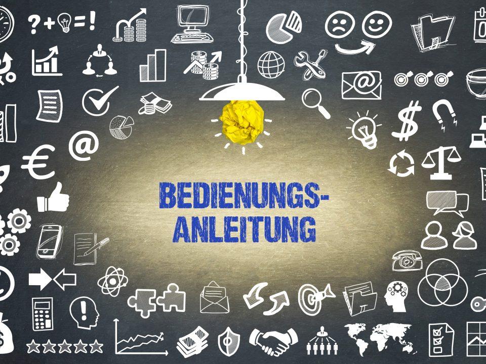 """Quelle: """"Bedienungsanleitung– stock.adobe.com"""""""